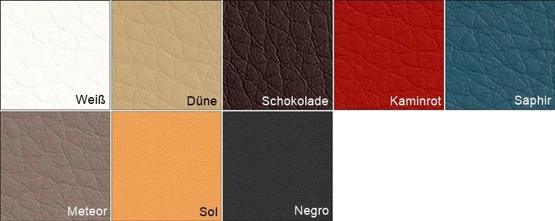 Farben PU-Kunstlederbezug ClapTzu