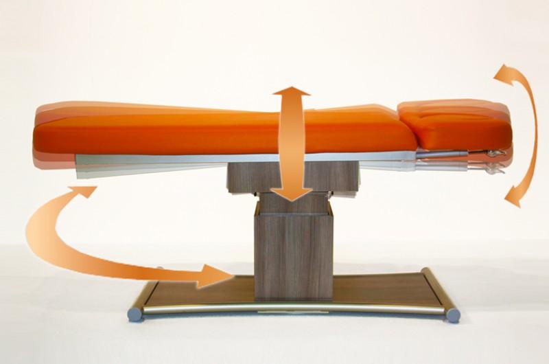 wavemotion ellipse 2 segmente massageliegen. Black Bedroom Furniture Sets. Home Design Ideas