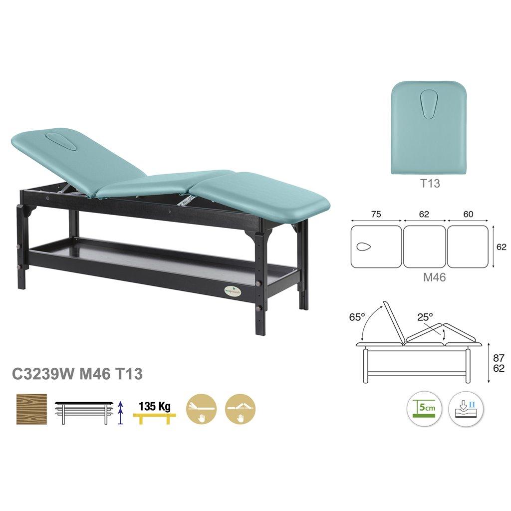 Therapieliege C3239 - Technische Detail