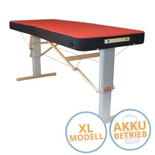 Massageliege Linea Sport XL mit Akku - ClapTzu