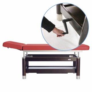 Massageliege Ambra Motion mit Handkurbel, 2-teilig