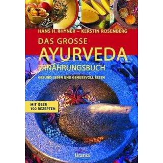 Rhyner, Hans H. / Rosenberg, Kerstin - Das große Ayurveda-Ernährungsbuch