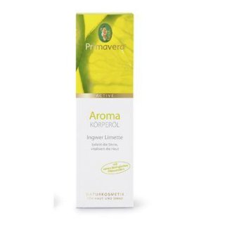Kosmetik Ingwer Limette - Körperöl 100 ml