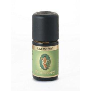 Ätherisches Öl - Lavendel fein kbA/DEM. 5 ml